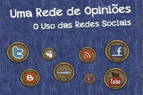 Uma Rede de Opiniões - O uso das redes sociais