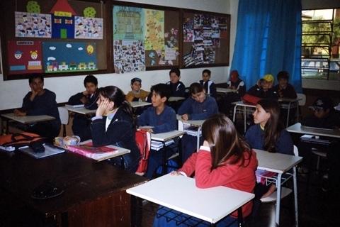 Não à violência na Escola e no Bairro
