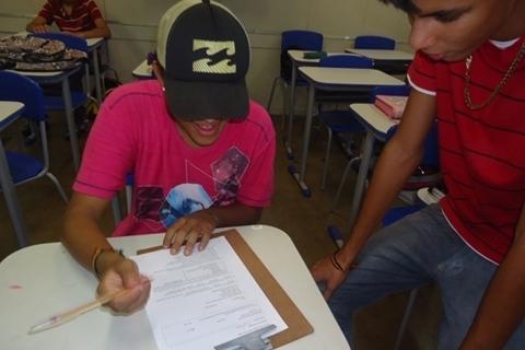 Formatura dos alunos do 9º ano da E.M Tristão da Cunha