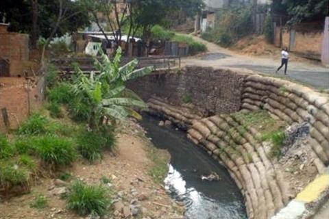 Meio ambiente com ênfase no córrego do cercadinho e área de preservação permanente