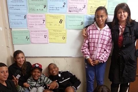 A cantina da escola - alimentação, nutrição e saúde