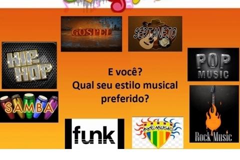 Preferência musical dos adolescentes da E.M.S.D