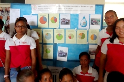 Como a comunidade de Igara percebe a escassez de água?