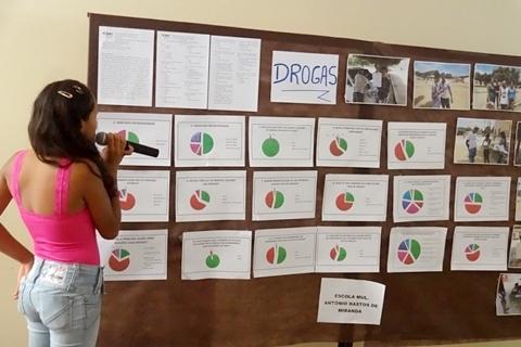Existe um aumento na quantidade de usuários de drogas em Missão do Sahy?