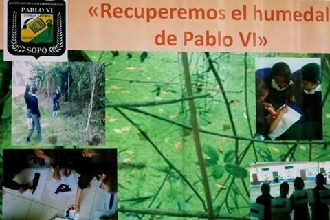 Contaminación del humedal pablo VI y calidad de vida de los seres que lo rodean